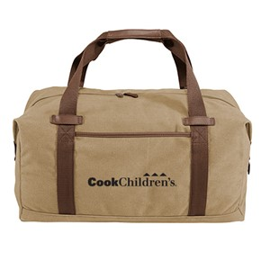 NEW Port Authority ® Cotton Canvas Duffel